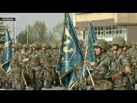 Kosovo to build its first national army