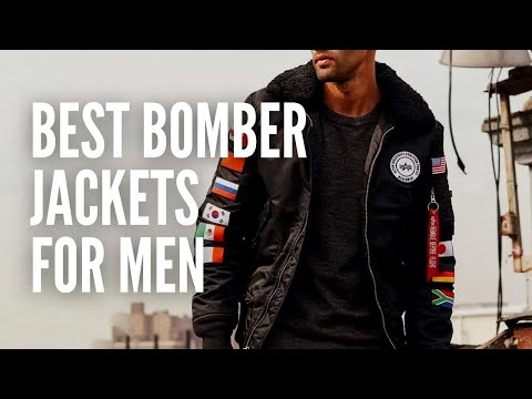 The 15 Best Bomber Jackets for Men