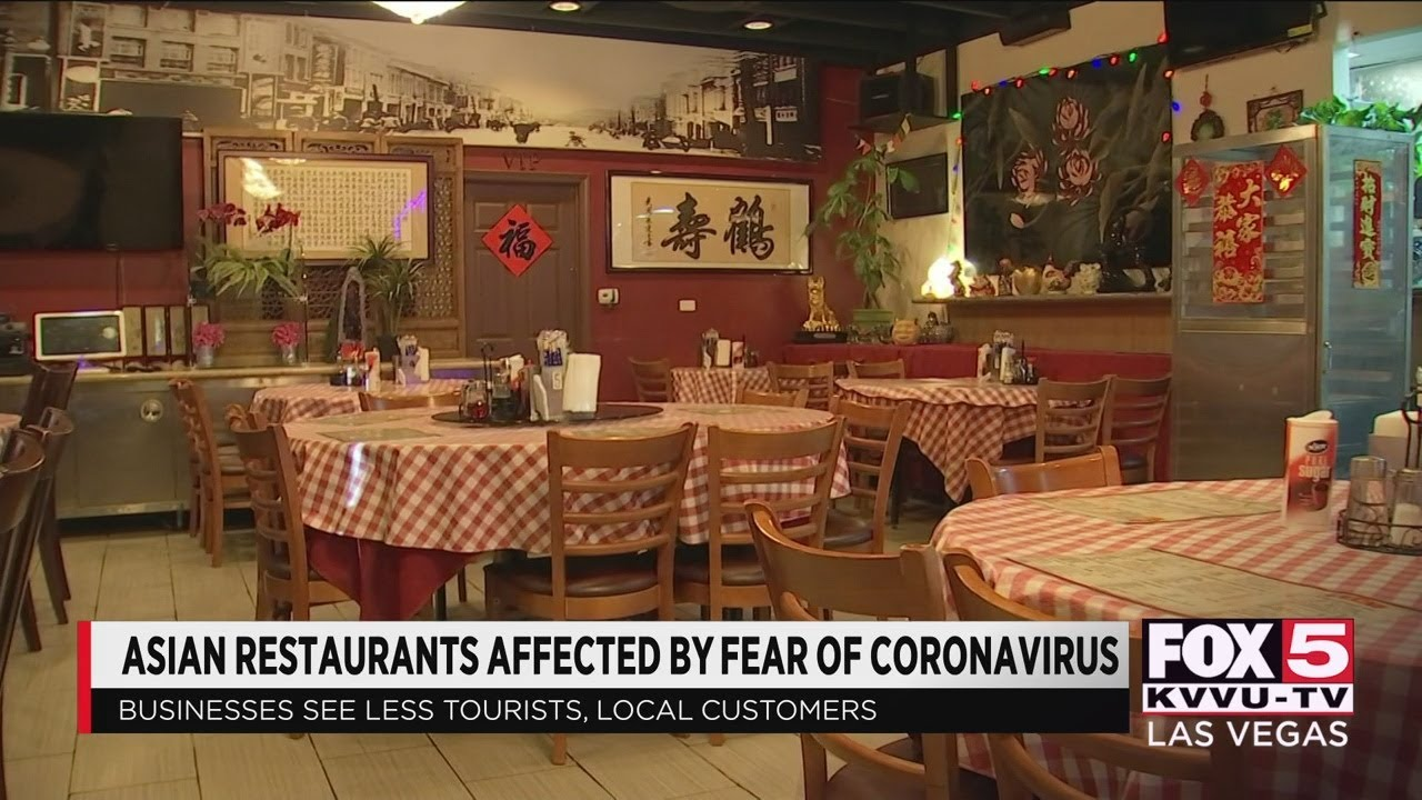 Asian restaurants affected by coronavirus fears