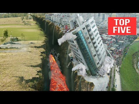 5 LARGEST Earthquakes In Recorded History