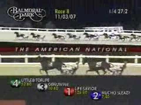 2007 BALMORAL $145,000 AmNatl 2yrC PACE MUCHO SLEAZY 1:51.3