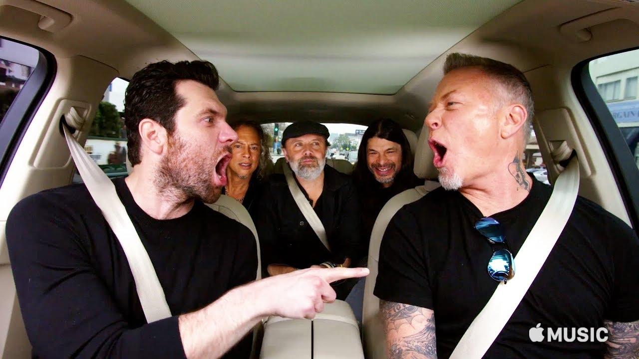 Carpool Karaoke The Series Billy Eichner And Metallica Apple Tv