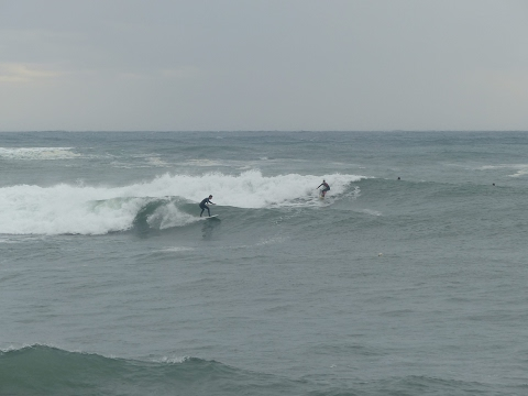 Surf Lib Tech Puddle Jumper in mediterranean point break ( go pro)
