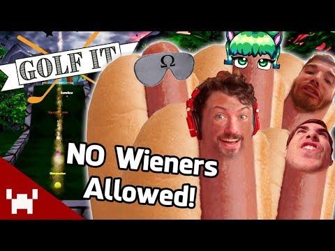 WIENERS BEWARE! | Golf It! Custom Levels w/ Ze, Ohm, BigJigglyPanda, Momo, & Satt