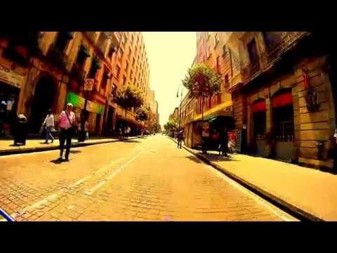 BICICLETA INFINITUM. ALDEA DIGITAL 2015. ZOCALO. MEXICO CITY