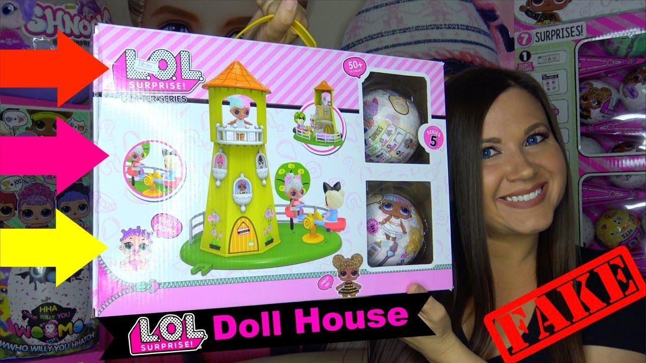 Fake Lol Surprise Dollhouse Series 4 Lol Surprise Dolls Doll House