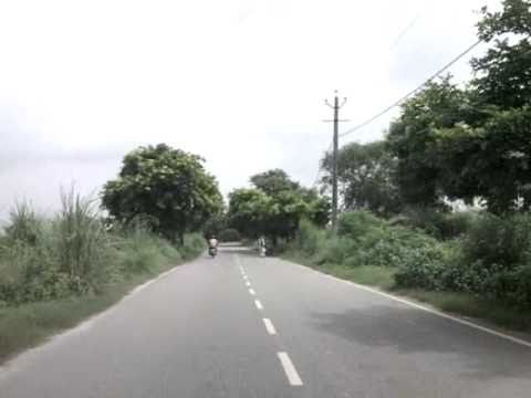 sony ericsson yari video test - road to my village