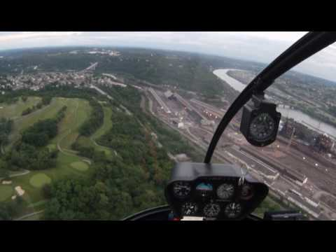 Stellar Helicopter Tour Pittsburgh, June 6, 2017