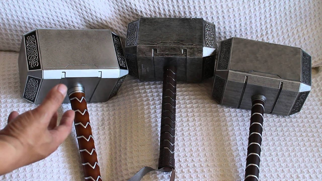 mjolnir comparison part 1 of 3 hammerheads thor hammer replica