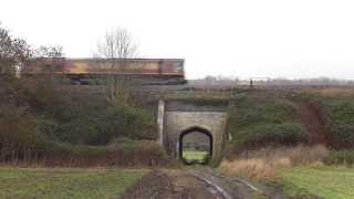 0o12/0x12 convoy, 66114-66007-66161-66206 @ Newton st Loe, Bath 07-12-13