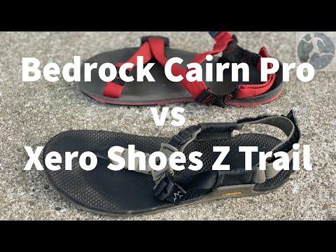 Minimalist Sandal Comparison: Bedrock Cairn Pro vs Xero Shoes Ztrail