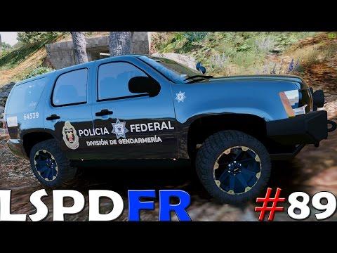 GTA V LSPDFR #89 POLICIA FEDERAL DIVISIÓN GENDARMERIA - ESCAPADA ÉPICA | TheAxelGamer