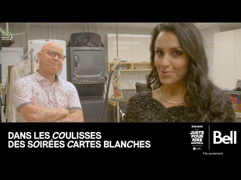 Bell présente DANS LES COULISSES DES SOIRÉES CARTES BLANCHES - avec Simon Delisle