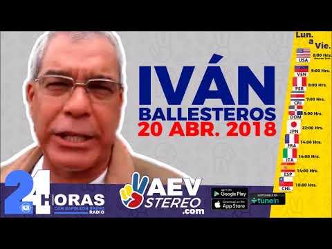 20ABR • EL COMENTARIO DE IVÁN BALLESTEROS SOBRE LO QUE LE PUEDA PASAR A MADURO
