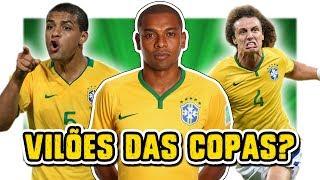 Os maiores VILÕES da Seleção Brasileira em Copas | TEM BASTANTE CRAQUE