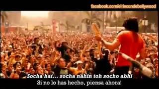 Socha Hai - Rock On!! (2008) subtitulado al español con karaoke