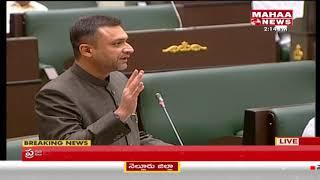 MIM MLA Akbaruddin Owaisi Speaks On Minority Welfare in T Assembly | Mahaa News