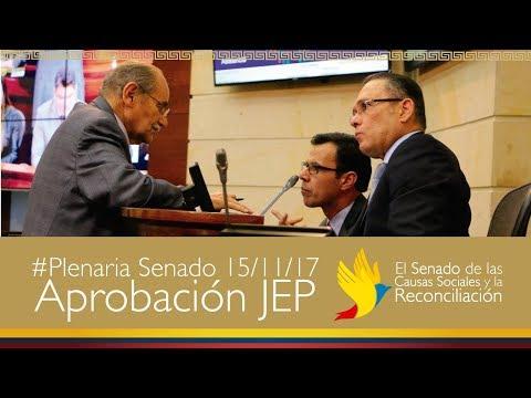 Transmisión en directo de Senado Colombia