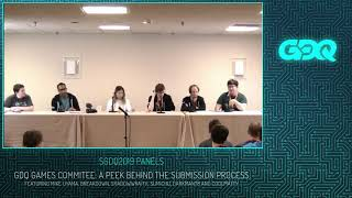 Sgdq 2019 Panels: Gdq Games Committee: A Peek Behind The Submission Process