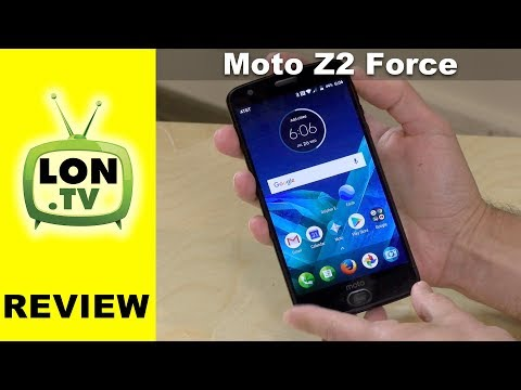 Moto Z2 Force Review - Motorola's New 2017 Flagship Smartphone