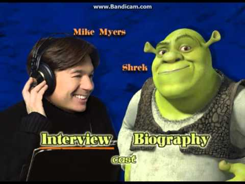 Shrek 2001 Dvd Menu Walkthrough Youtube