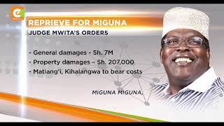 Miguna Miguna wins case against gov't