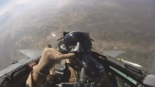 Cockpit View: F-15E Strike Eagle, Takeoff, Air Refueling (2012)