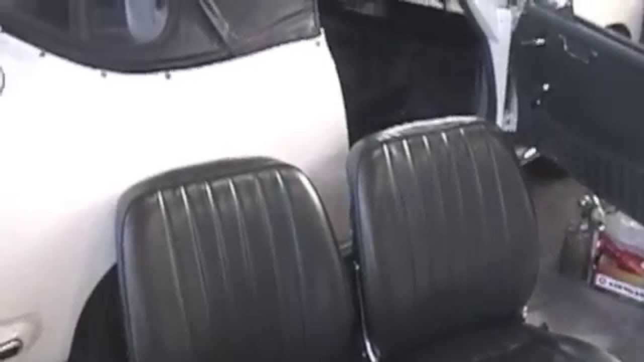 Porsche Carpeting and Seat Re-upholstery - Cooks Upholstery Redwood City