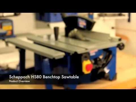 Scheppach HS80 Product Overview