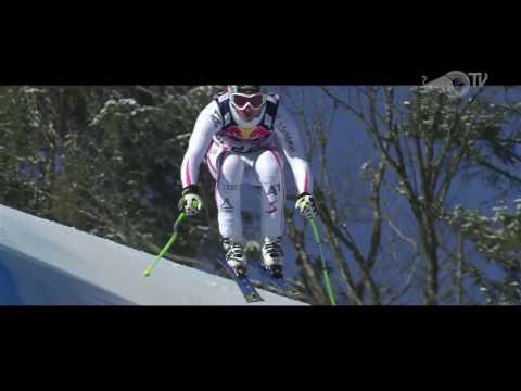 140 км/ч на горных лыжах