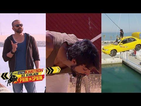Khatron Ke Khiladi 8   EP 15 - 16  Karan Wahi, LopaFREAK OUT during a stunt