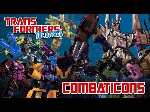 TRANSFORMERS: THE BASICS on the COMBATICONS