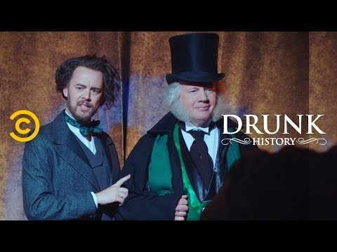 How Charles Dickens Changed Christmas for the World (feat. Colin Hanks) - Drunk History