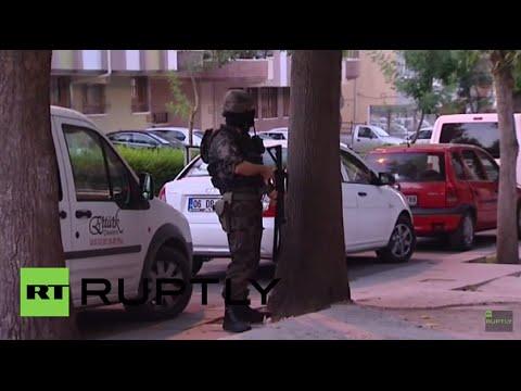 Turkey: Police conduct raid on suspected 'Islamic State' target