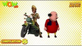 Motu Patlu - Non stop 3 episodes | 3D Animation for kids - #56