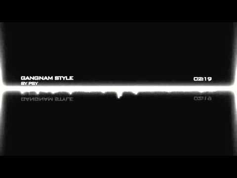 PSY - GANGNAM STYLE (Official Instrumental) NO WORDS/LYRICS