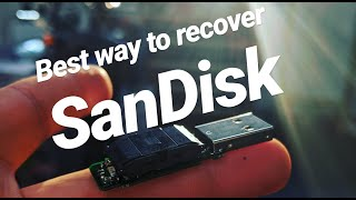 sandisk Cruzer will not show up. How to recover data using a donor flash drive