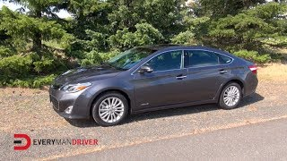 Here's the 2014 Toyota Avalon Hybrid on Everyman Driver
