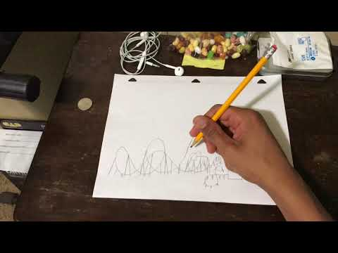 Drawing A Bm Floorless Coaster Youtube