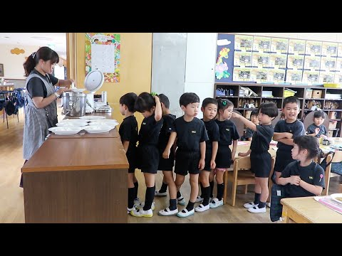A day in a JAPANESE KINDERGARTEN