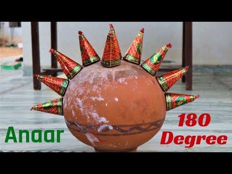 10 DIWALI ANAAR IN 180 DEGREE ANGLE | दिवाली अनार चारों तरफ | BLADE XYZ |