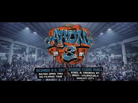 FlipTop - Ahon 8 - Isabuhay Finals 2017 Teaser and Video Flyer