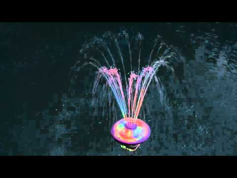 Underwater Light Show And Fountain Game Youtube