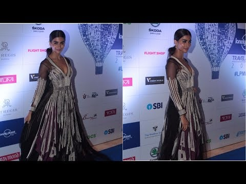 Pooja Hegde At 6th Lonely Planet Magzine India Travel Awards