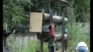 Переработка б/у шин в топливо- пиролиз.(ОР.002 реактор по получению синтетической нефти из б/у шин и других РТИ. Более подробно на www.suslovm.narod.ru , Processing..., 2008-08-01T22:19:41.000Z)