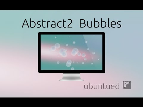Abstract2 Bubbles Making of, with Inkscape.