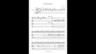 Toccata Nuptiale - Christa Ajris (wedding music for organ and trumpet)