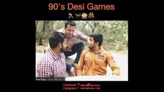 90 dask ke desi game..ghoda ghodi,chupha chuphi,comedy video