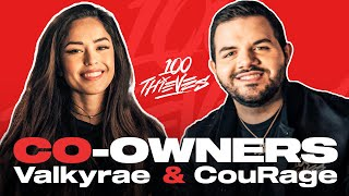 Valkyrae and Courage Become Co-Owners of 100 Thieves!