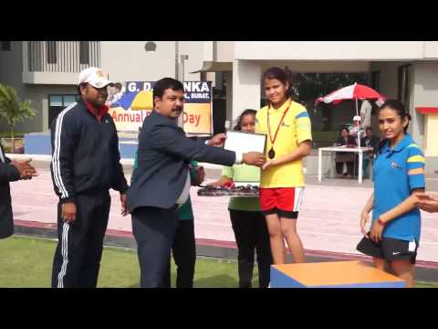 G. D. Goenka International School, Surat-Annual Sports Day (